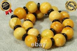 Baltic Natural Yellow Color Amber Bracelet 8 Grams Collectible Amber