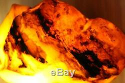 Big Raw Amber Stone rock 221 g pendant 100% natural Baltic kahrab kahrman misbah