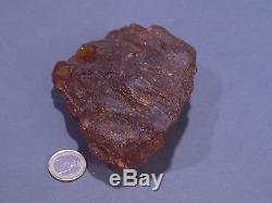 Echter Roh Bernstein Rar Amber Stones 220 Gramm Natural Baltic (Privat Sammlung)