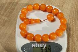 Europe Baltic Antique Islam prayer bakelite necklace 59 grams