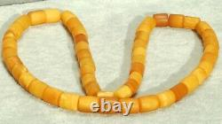 High Class Antique Natural Collectible Authentic Baltic Amber Necklace