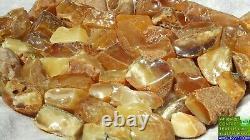 High Class Baltic Natural Amber Stones 326 G Fedex Fast 4-5 Days Worldwide Ship