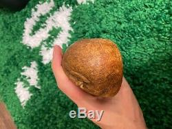 Huge Very Unique Baltic Amber stone (849g.)