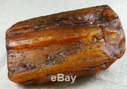 Huge natural butterscotch genuine Baltic amber raw rough stone 565.18 grams