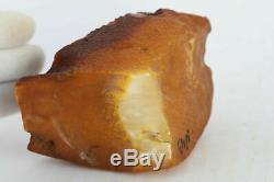 N43 raw amber stone rock 235.7g natural Baltic misbah tesbih rough