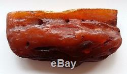 Natural Baltic Amber Stone 280.46 Gramme