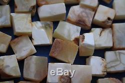 NATURAL ROYAL WHITE BALTIC AMBER STONE 26 gr