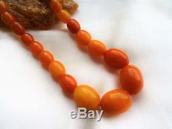 Natur Bernstein Kette, Butterscotch, natural real baltic Amber Necklace