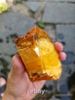 Natural Baltic AMBER Stone 165gr Bernstein kehribar kahraman genuine
