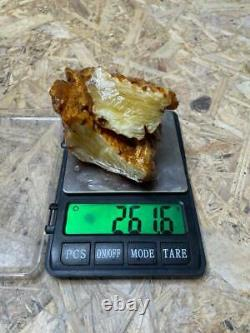 Natural Baltic AMBER Stone 261gr Bernstein kehribar kahraman genuine