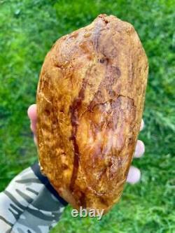 Natural Baltic AMBER Stone 993gr Bernstein kehribar kahraman genuine