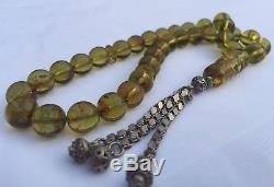 Natural Baltic Amber Kerhibar Prayer Beads