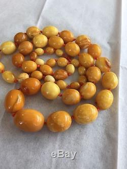 Natural Baltic Amber Necklace 57 grams