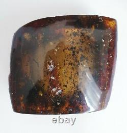 Natural Baltic Amber Stone Rock Big Genuine Cognac Transparent Color 79.8 g