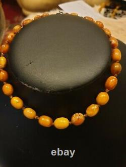Natural Baltic/butterscotch Amber Necklace
