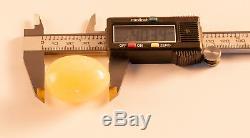 Natural Butterscotch Egg Yolk BALTIC AMBER 18.33g R101026
