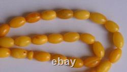 Natural Genuine Baltic Butterscotch Amber- Islamic prayer beads Tasbih