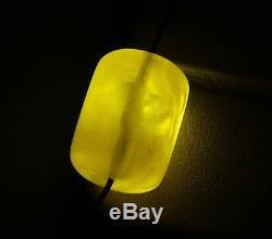 Natural Genuine Butterscotch Egg Yolk Baltic Amber Bead