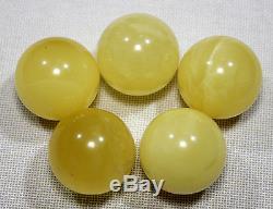 Natural Genuine Butterscotch Egg Yolk Baltic Amber Bead 31 gr