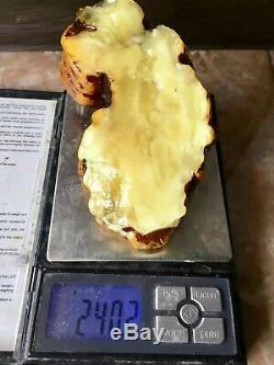 Natural Old Amber Stone 240 g