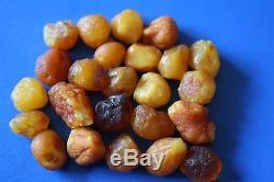 Natural Raw Rough Rare Drops Nugget Genuine BALTIC AMBER 18 gr