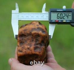 Natural Royal White Baltic Amber Stone 311 Grams Raw