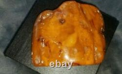 Natural baltic amber stone raw 262g