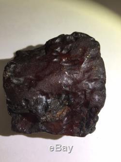 Natural baltic amber white mist raw stone 127.8g
