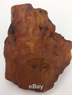 Natural baltic butterscotch amber 134 grams stone