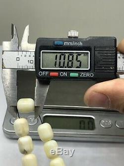 ONE STONE BALTIC AMBER ROSARY 23 gram 9 mm Systema ISLAMIC PRAYER BEADS