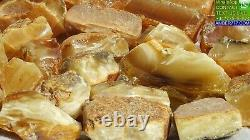 Old Baltic Natural High Class Amber Stones 287 G Fedex Fast Days Worldwide Ship