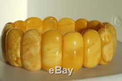 Old Natural Baltic amber necklace 22 grams, traditional Lithuania amber bracelet