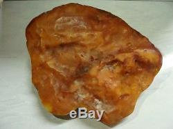 Polish BALTIC NATURAL OLD 676 gr Amber RAW STONE