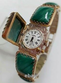 RARE Chaika Soviet USSR Vintage Watches Natural Baltic Amber Stone 1601a
