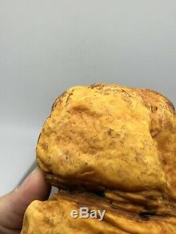 Raw Amber Stone 269 Gr