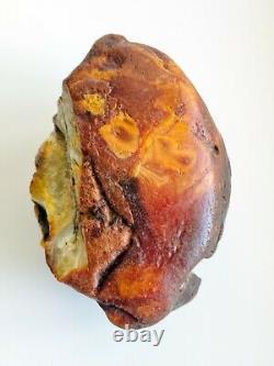 Raw Amber Stone rock 204 gr pendant 100% natural Baltic kahrab kahrman misbah