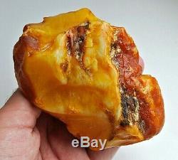 Raw Amber Stone rock 218 g pendant 100% natural Baltic kahrab kahrman misbah