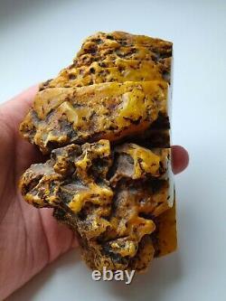 Raw Amber Stone rock 305 gr pendant 100% natural Baltic kahrab kahrman misbah