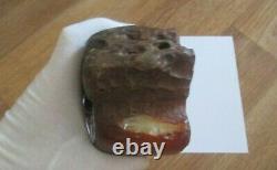 Raw Amber Stone rock 830 g pendant 100% natural Baltic kahrab kahrman misbah