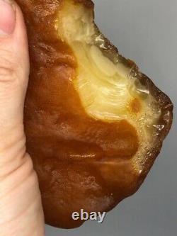 Raw Baltic Amber Stone 360,7 g 100% Natural