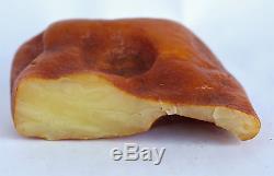 Raw amber stone 139.3g pendant rough natural Baltic DIY
