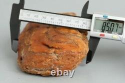 Raw amber stone 378.3g Baltic 100% natural beads tesbih balls kahrab kahraman