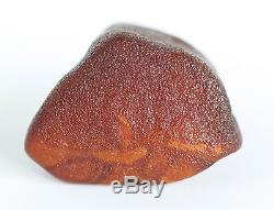 Raw amber stone 41.2g pendant full leather natural Baltic DIY