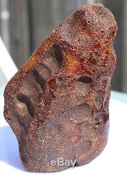 Raw amber stone 434g natural Baltic butterscotch DIY