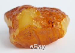 Raw amber stone 83.9g beeswax pendant natural Baltic DIY