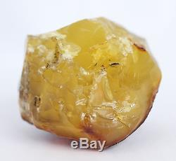 Raw amber stone 88.5g bead brand pendant natural Baltic DIY