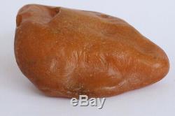Raw amber stone rock 296.1 pendant 100% natural Baltic kahrab kahrman misbah