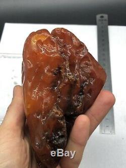 Raw amber stone rock 334 gr bernstein natural Baltic