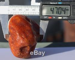 Raw amber white stone rough 139.5g natural Baltic beeswax DIY
