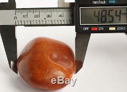 Raw amber white stone rough 40.2g natural Baltic beeswax DIY